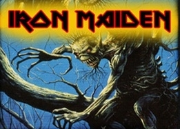Peňaženka IRON MAIDEN FEAR OF THE DARK